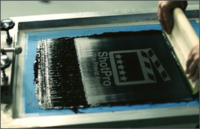 iconic screen printing business video